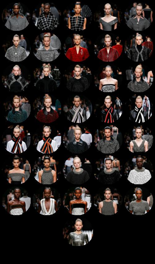 Balenciaga models